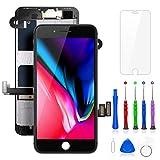 FLYLINKTECH écran pour iPhone 8 Plus Noir 5.5' LCD de Remplacement Complet -...