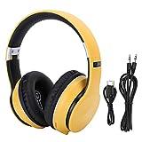 Socobeta Support Radio Mode Wireless Gaming Headphone Head-Mounted Earphone für MP3-Player für Sport für Smartphone(Yellow)