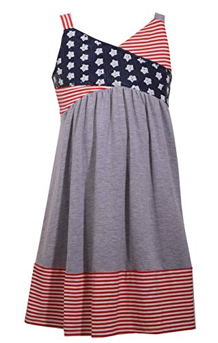 Bonnie Jean Girl's 4th of July Dress - Americana Sundress for Toddlers, Little and Big Girls (7)
