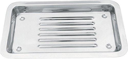 Masako Instrumententablett / Instrumenten Schale Ablage aus rostfreiem Edelstahl für die Fußpflege, Kosmetik, Dental Instrumentenablage Tablett