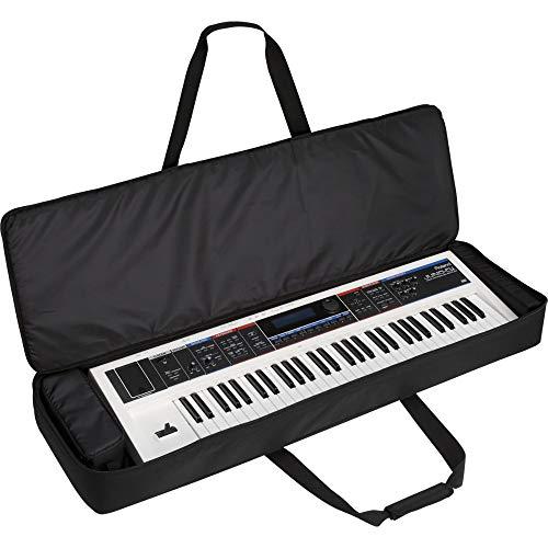 Kabalo Custodia protettiva imbottita nera per tastiera elettrica a 61 tasti