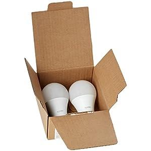 AmazonBasics 75 Watt Equivalent, Soft White, Dimmable, A19 LED Light Bulb   6-Pack