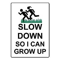 安全標識標識屋外の装飾ので、私は錫金属標識通知を警告することができます