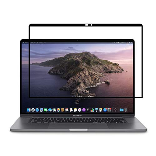 Moshi iVisor Screen Protector for MacBook Pro 15', Anti-Glare, Easy-Installation, Washable & Reusable, Scratch & Fingerprint Resistance, for MacBook Pro 15' (2016-2019)