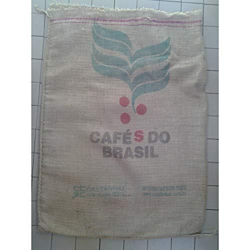 Mokaor Jutesäcke aus Jute, 70 x 100 cm, Sack aus Jute-Stoff, Geschenke, Garten, Möbel UNICA Disegno - CafèS do Brasil - Santos Alpha