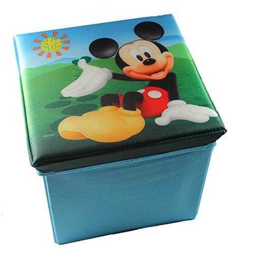 Delta Children's Products Disney Mickey Mouse lizenziert Canvas Spielzeugkiste Aufbewahrungsbox