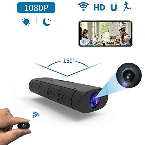 Futursd Mini WiFi camera Wireless Nanny Camera HD 1080P Home Nanny Cam Night Vision Motion Detection voor Home/Baby/Pet