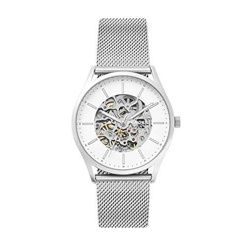 Skagen Analog Silver Dial Men's Watch-SKW6581
