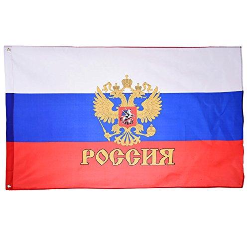 DDG EDMMS Russische Flagge, 1 Stück, 90 x 150 cm, Flagge zum Aufhängen für Events und Aktivitäten.