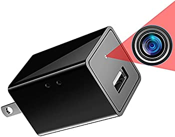 Baobang 1080p Hidden Spy Camera USB Charger