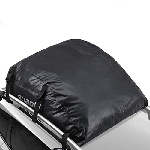 SUAOKI Car Top Carrier 100% Waterproof Roof Top Cargo Bag 15 Cubic Feet for Car Truck SUV Van with...