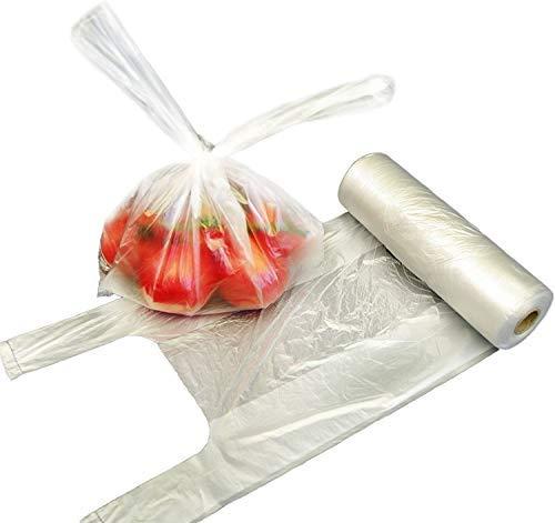 ZERAY Bolsas de nudos de 3 kg en rollo (4 x 250 unidades) 22 + 12 x 40 bolsas de transporte de camisas, bolsas de plástico, bolsas de plástico, bolsas de nudos, bolsas de plástico (1000)