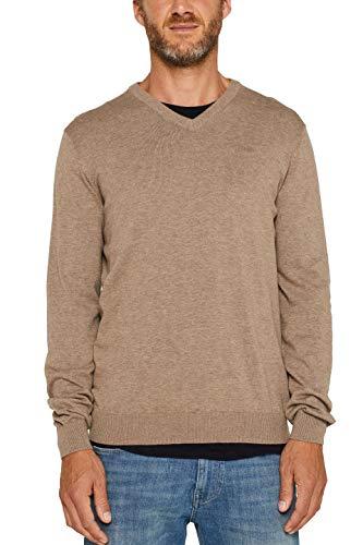 ESPRIT Herren 999EE2I804 Pullover, Beige (Beige 270) - 2019, XL
