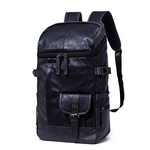 Neue Pu Rucksack Herrentasche Japan Und Südkorea Edition Flut Reiserucksack Lady Bag 1 25 * 44 * 15Cm