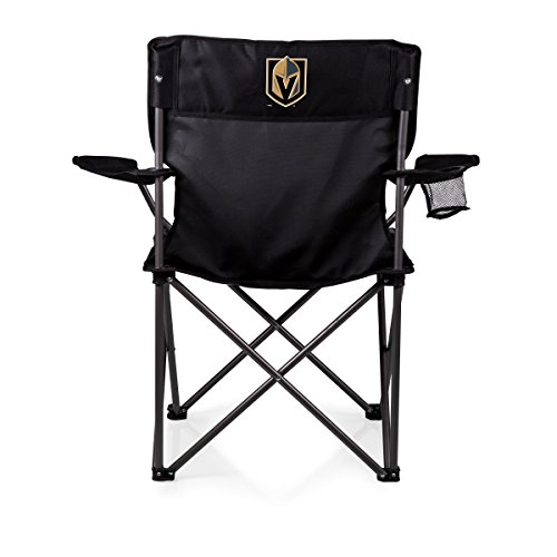PICNIC TIME NHL Vegas Golden Knights PTZ Portable Folding Camp Chair