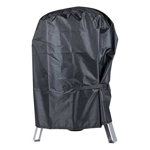 BBQ Grill Cover with Waterproof - Dust Resistant Kettle Grill Cover Fits Most of Outdoor Cooking Smoker (23.62 x 23.62 x 30.31 Inches)