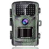 Cámara de Caza 16MP FHD 1080P con Vision Nocturna Detección de Movimiento Cámara Foto Trampa, 0,5s Velocidad de Disparo 2' LCD IR Leds Impermeable Cámara de vigilància