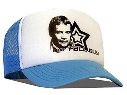 Bastart Colt Seavers Casquette en maille Motif The Fall Guy Bleu
