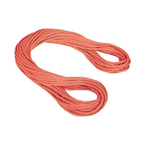 Mammut Cuerda Simple 9.8 Crag, Adultos Unisex, Classic Standard, Orange/White (Multicolor), 80...