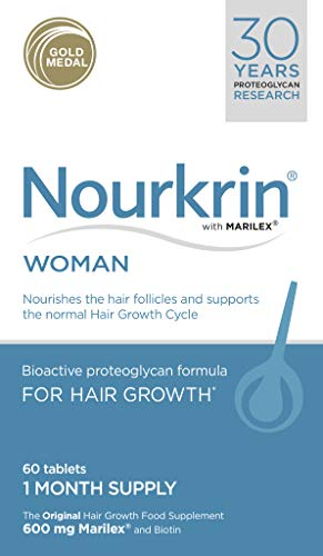 Nourkrin Woman Tablets (1 Month Supply), Multicoloured, 60 count