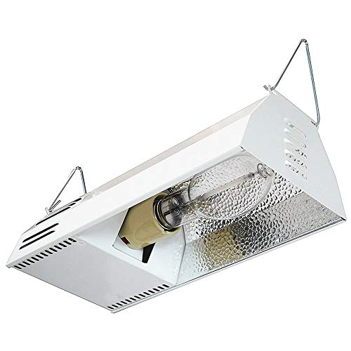 Hydroplanet Grow Light Fixture HPS 150W Complete System with Hydroplanet Lamp - HPS Plug and Play Grow Lamp for Hydroponics and Greenhouse Use(150W Grow Light Kit)