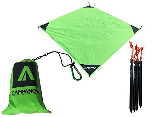 CAMPANOVA die picknickdecke klein, picknickdecke wasserdicht, die perfekte Decke Outdoor, auch als Decke wasserdicht, kleine picknickdecke, Outdoor Decke wasserdicht, wandern Gadgets, Outdoor Blanket