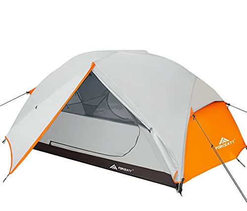 Forceatt Tent for 2 Person is Waterproof and Windproof, Camping Tent for 3 to 4 Seasons, Lightweight...