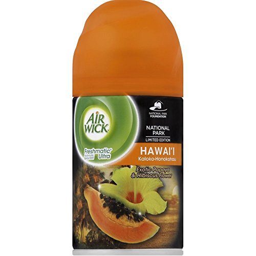 Air Wick Freshmatic Automatic Spray Air Freshener, National Park Collection, Hawaii Scent, 1 Refill, 6.17 Ounce