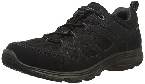 Ecco Damen Light IV Outdoor Fitnessschuhe, Schwarz (51052BLACK/BLACK), 37 EU