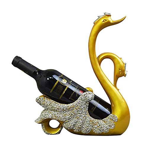 Tastak Estante de Vino, Resina de Cisne, artesanías de Estilo Europeo, Decoraciones de gabinete, Sala de Estar, gabinete de Vino, gabinete de Estudio, Forma de Animal, Vino Rcak