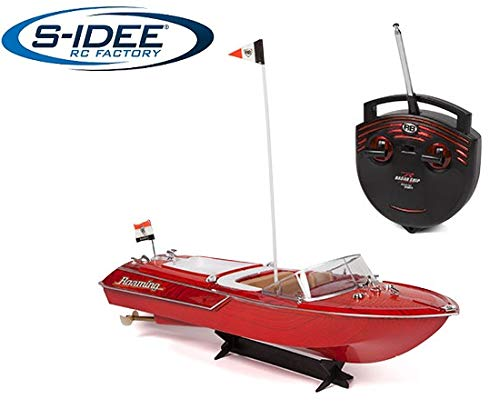 s-idee® 20003 Rc jacht afstandsbediening Venezia boot in Riva-look motorboot