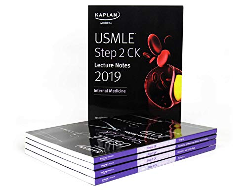 USMLE Step 2 CK Lecture Notes 2019: 5-book set (Kaplan Test Prep)