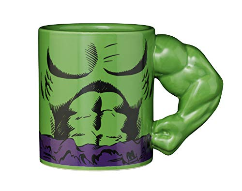 Exquisite Gaming Incredible Hulk Tasse 3D Arm