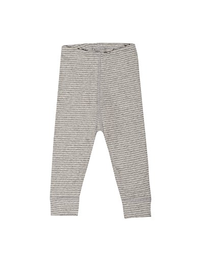 Dilling Baby Leggings für Mädchen & Jungen - Bio Baumwolle Grau gestreift 98