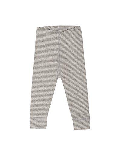 Dilling Baby Leggings für Mädchen & Jungen - Bio Baumwolle Grau gestreift 86