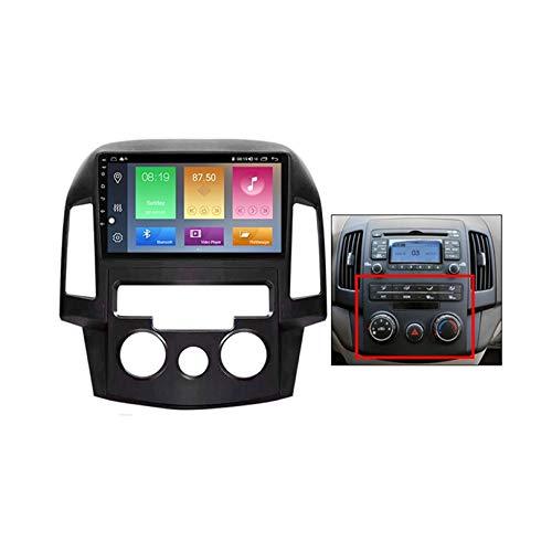 ADMLZQQ Autoradio 2 DIN Android per Hyundai i30 2007-2012 GPS Navigatore Satellitare Auto Supporto Colling Fan/Uscita AV Completa/Carplay Auto / 4G 5G WiFi,B,M150