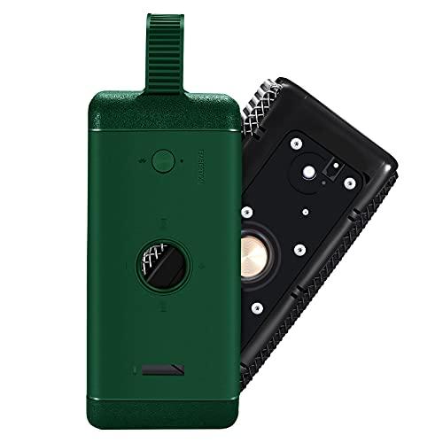 2021 El viaje al aire libre más nuevo lleva suave silicona caso cubierta caja bolsa para Marshall EMBERTON Bluetooth altavoz inalámbrico (verde)