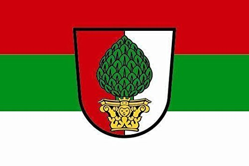U24 Motorradflagge Augsburg Fahne Flagge 20 x 30 cm