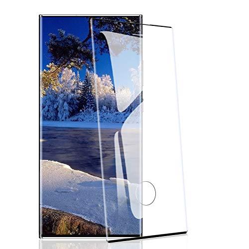 RIIMUHIR Vetro Temperato per Samsung Galaxy Note 20 Ultra [2 Pezzi], Protezioni per Lo Schermo per Samsung Galaxy Note 20 Ultra [HD Trasparente] [9D Copertura Completa] [Senza Bolle]