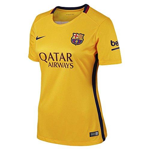 Nike 2015-2016 Barcelona Away Ladies Football Soccer T-Shirt Trikot