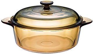 VISIONS - Olla de cerámica y Cristal (3,25 L, 33 cm), Color
