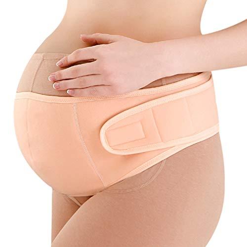 KAZOGU Weicher Mutterschaftsgürtel Bauchband für Schwangere Rückenstütze Atmungsaktive Schwangerschaftsvorsorge Lordosenstütze