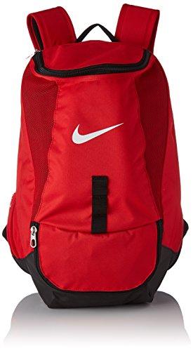 Nike Club Team Swoosh Backpack University Red Black White One Size