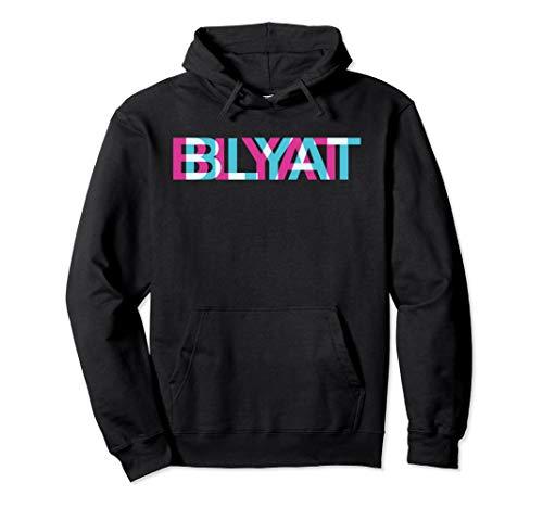 Blyat | Lustiger Spruch Glitch Gaming Meme Russisch Blyat Pullover Hoodie