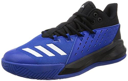 adidas Street Jam 3, Scarpe da Ginnastica Uomo, Nero (Negbas/Ftwbla/Reauni), 48 EU