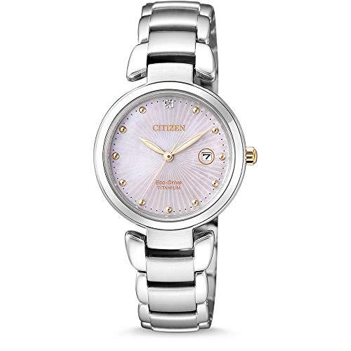 Citizen. Super Titanium. Reloj Solo Tiempo para mujer EW2506–81Y
