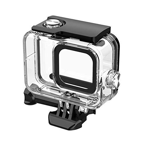 RRunzfon Caja de la cámara a Prueba de Agua, la Caja Protectora, Submarinismo Caso para GoPro8 Deportes Accesorios Caja de la cámara a Prueba de Agua Innovador, Compatible con Las cámaras Deportes