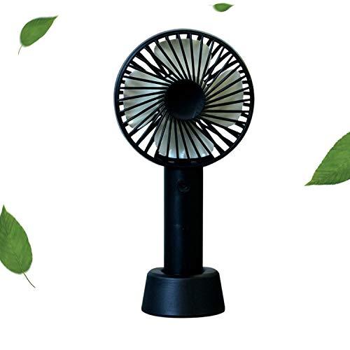Gxhong Handventilator, USB Ventilator Mini Hand Ventilatoren Tragbare Ventilator für Outdoor, Drehzahlregelung im dritten Gang, USB aufladbare akku, für Schlafzimmer Büro Reisen und Camping