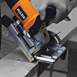 Yongse Hilda 760W Biscuit Jointer Woodworking Tenoning Machine Biscuit Machine Puzzle Machine Groover