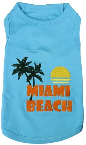 Parisian Pet Dog Cat Chicago Max 73% OFF Mall Clothes Beach Pooch Miami Tee Shirts